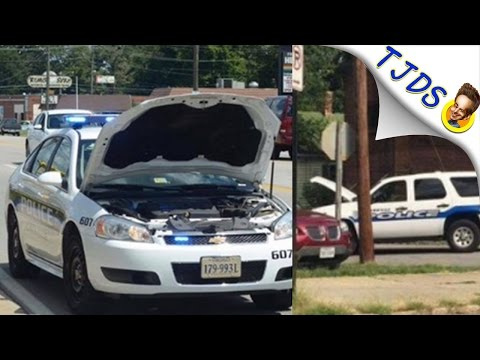 Police Using Car Hoods To Block Dash Cams