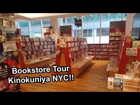 Kinokuniya Tour 2016