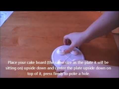 How to Stack a Cake Using the SPS Sysptem - YouTube