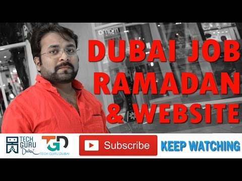 #Dubai job Guidance #Dubai rules #Website | Hindi urdu #ramadan