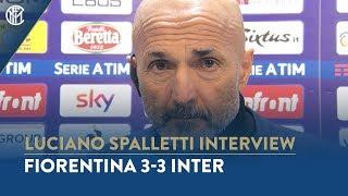 FIORENTINA 3-3 INTER | LUCIANO SPALLETTI INTERVIEW:
