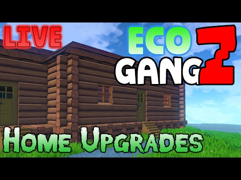 ECO Multiplayer Gameplay - GangZ Co-Op - Ep 4: Home Upgrades