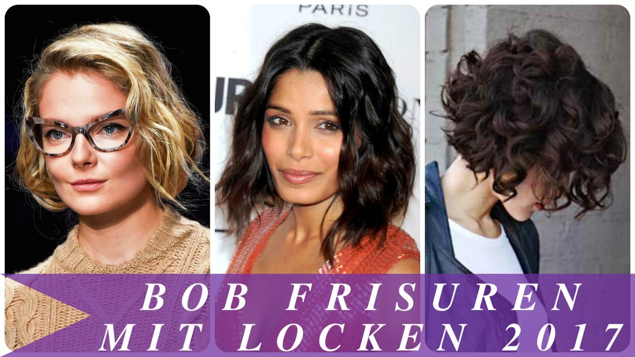 Bob frisuren locken bilder