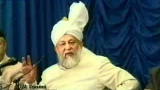 Questions and Answers with Hadhrat Mirza Tahir Ahmad 1995-07-08
