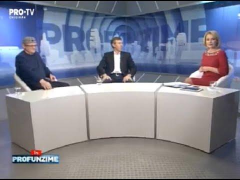 Emisiunea InPROfunzime cu Lorena Bogza din 23 noiembrie. Invitati: Dorin Chirtoaca si Vasile Botnaru