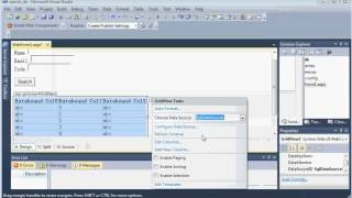 visual studio 2010 c# how to multiple search data from database and gridview -  the easiest way
