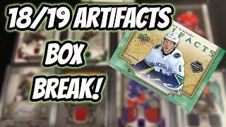 18/19 Upper Deck Artifacts Box Break! CASE HIT!   Auddie James