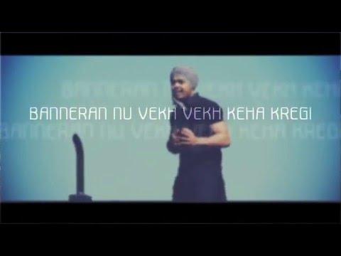 Harvy Sandhu Ft. G-TA | Banner | Lyrical Video | New Punjabi Song 2016