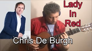 LADY IN RED CHRIS DE BURGH FINGERSTYLE GUITAR COVER
