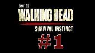 The Walking Dead Survival Instinct Detonado Parte 1 - Aprendendo e se fudendo - HD PT-BR PS3