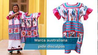 El textil es de la comunidad indígena mazateca; la marca Zimmerman anuncia que ya retiró la prenda del mercado