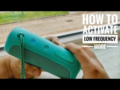 """JBL Flip 4 - How To Activate Low Frequency Mode !! & Basstest """"EXTREME/DSP OFF BASS MODE """""""
