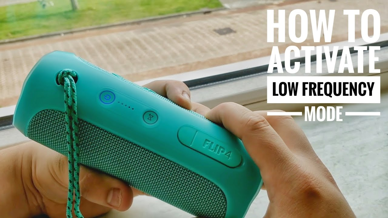 JBL Flip 4 - How To Activate Low Frequency Mode !! & Basstest