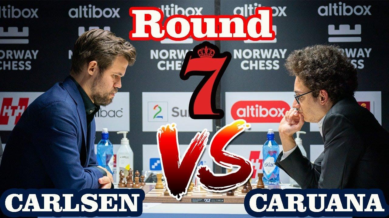 Carlsen Caruana Live