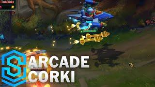 Arcade Corki Skin Spotlight - Pre-Release - League of Legends