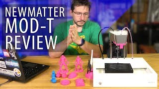 Newmatter MOD-t 3D Printer Review - Is It Worth $299?