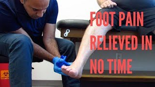 Foot Pain Relieved In Minutes With ASTR + Follow-Up (REAL RESULTS!!!)
