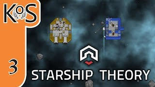 Starship Theory Ep 3: SHIP ON FIRE! - Colony Builder/Survival, Let