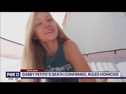 Autopsy confirms: Gabby Petito's body found in Wyoming