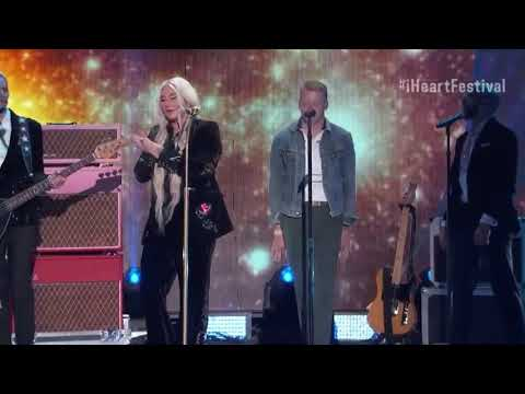 Kesha & Macklemore  Good Old Days  for the first time iHeartRadio 2017 HD