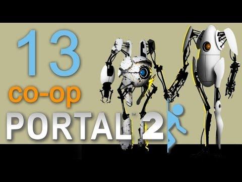 Portal 2 co-op - Прохождение игры на русском - Кооператив [#2]