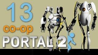 Portal 2 co op Прохождение игры на русском Кооператив #13 Финал