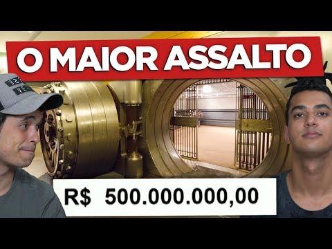 O MAIOR ASSALTO A BANCO DO BRASIL !!