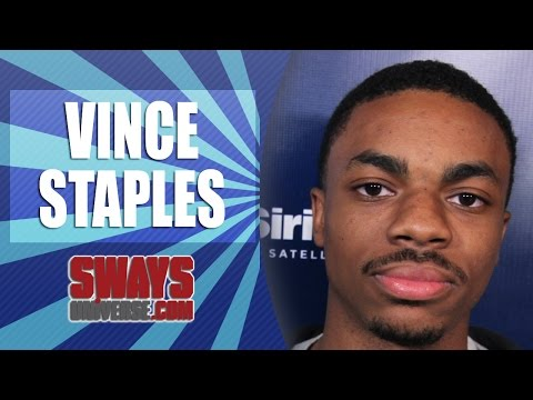 Vince Staples Freestyles Off the Top on Sway In The Morning