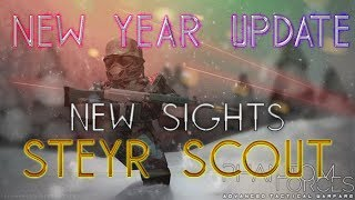[Winter Update 3] [New Years Update!] Phantom Forces | New Sniper Gun And 3 New Sights! ] - Roblox