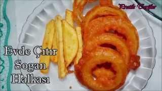 Ev Yapımı Çıtır Soğan Halkası - Pratik Tarifler - Homemade Crispy Onion Rings