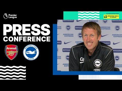 Graham Potter's Arsenal Press Conference