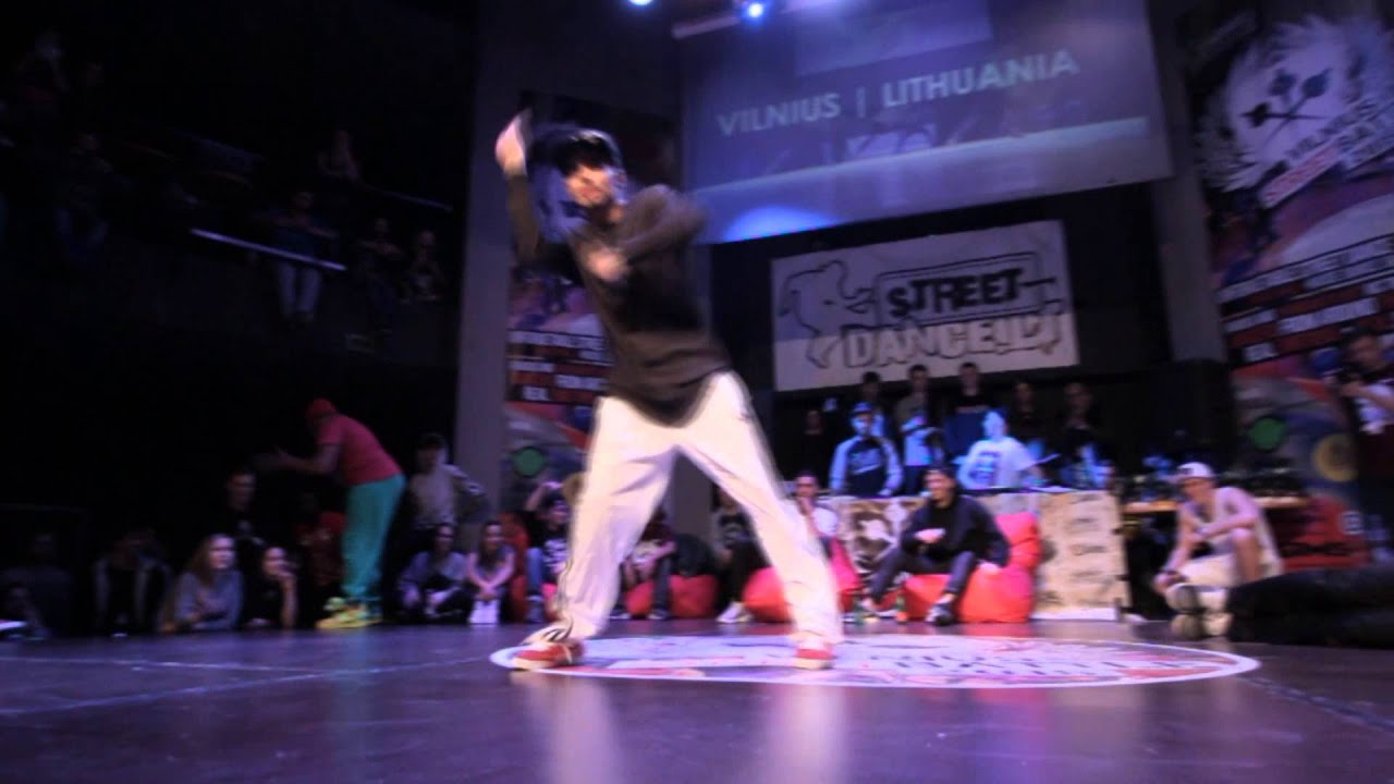 Arejay Kay Mifa judge demo @Vilnius Street Battle 2015