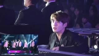 Video Jungkook's reaction to ASTRO @ SBS Gayo Daejun 2016 download MP3, 3GP, MP4, WEBM, AVI, FLV Oktober 2017