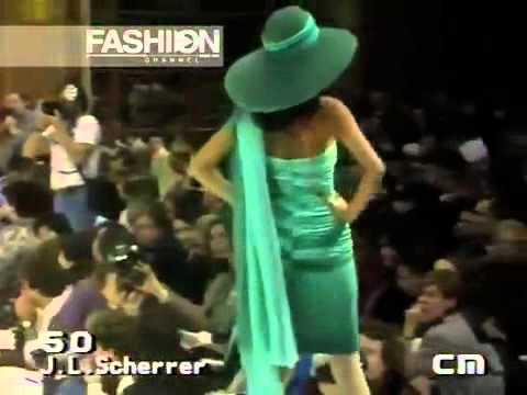 JEAN LOUIS SCHERRER - Haute Couture - Spring/Summer 1986