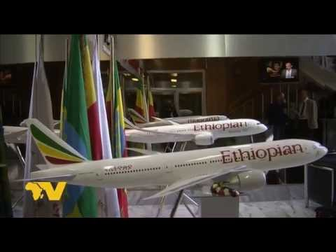 1st flight of Ethiopian Airlines Addis Ababa - Vienna