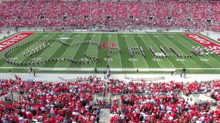 Ohio State Marching Band THE BEATLES! Halftime Show TBDBITL  OSU vs Florida AM 9 21 2013 thumbnail