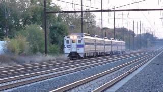 Amtrak, SEPTA Trains at Levittown