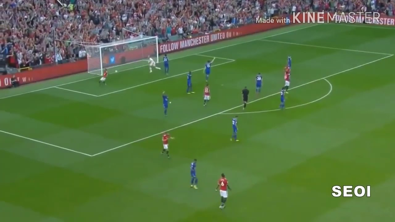 Ft Manchester United 2 0 Leicester Youtube