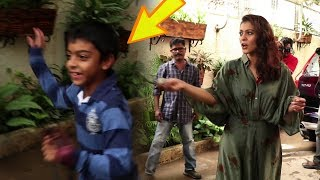 Kajol's Son Yug Devgan's WEIRD Behavior With Media