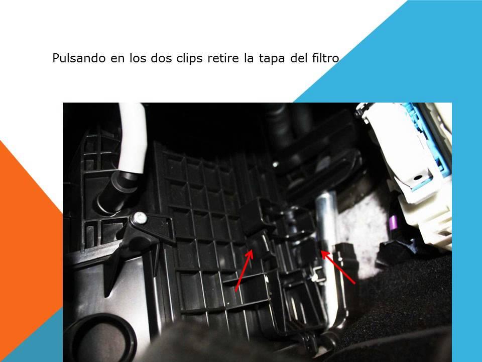 cheap for discount bb3fd f8d9a Ford Focus III como cambiar filtro habitaculo filtro anti polen