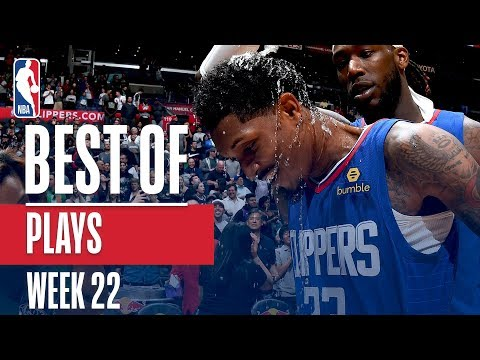 NBA's Best Plays | Week 22 thumbnail