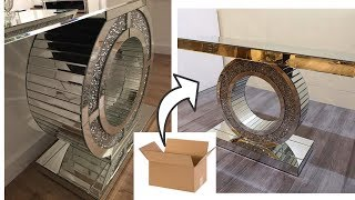 Diy Entryway Table - Decorating Ideas With Cardboard! Giveaway Winner!