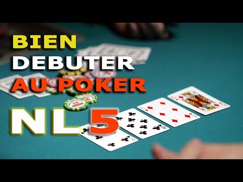 [Bien démarrer au Poker] Cash Game en NL5 (blinds 0.02/0.05€)
