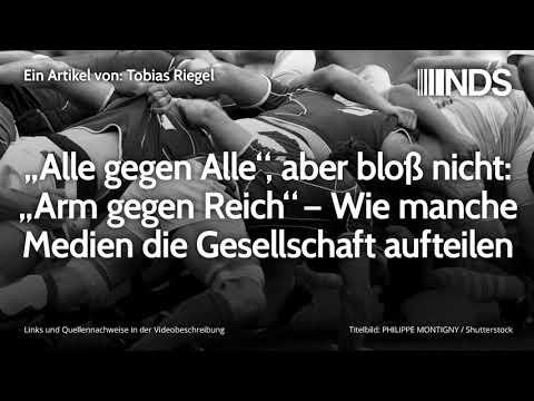 """""""Alle gegen Alle"""", aber bloß nicht: """"Arm gegen Reich"""" – Wie manche Medien die Gesellschaft aufteilen"""