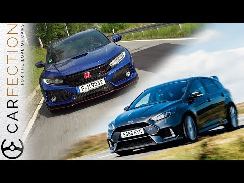 Honda Civic Type R Vs Ford Focus RS - Carfection