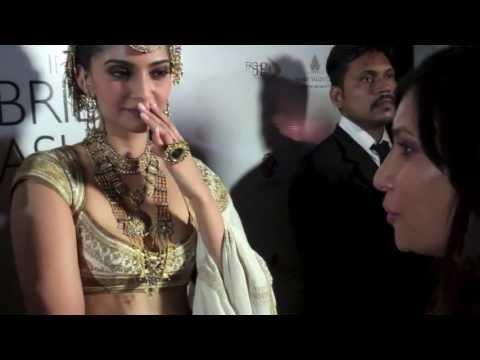 Interview: Sonam Kapoor & Rohit Bal #IBFW
