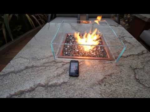 Full electronic ignition for Fire pit table