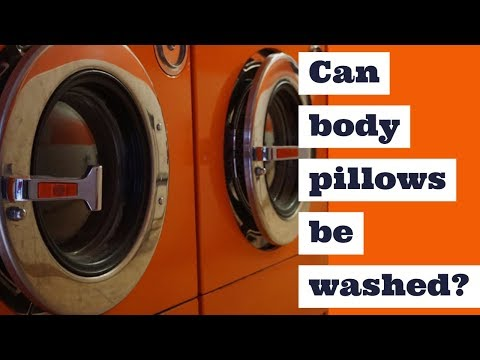 Can body pillows be washed?