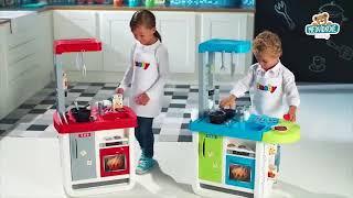 Dětská kuchyňka Smoby Cherry elektronická se zvuky