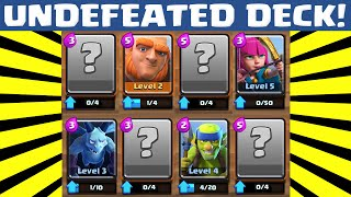 Clash Royale UNDEFEATED DECK | BEST CARDS TO UPGRADE FIRST FOR LEVEL 2 3 4